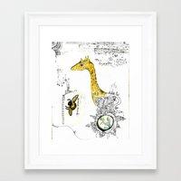 The Gyraffe Framed Art Print