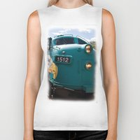 Train In Your Face Biker Tank