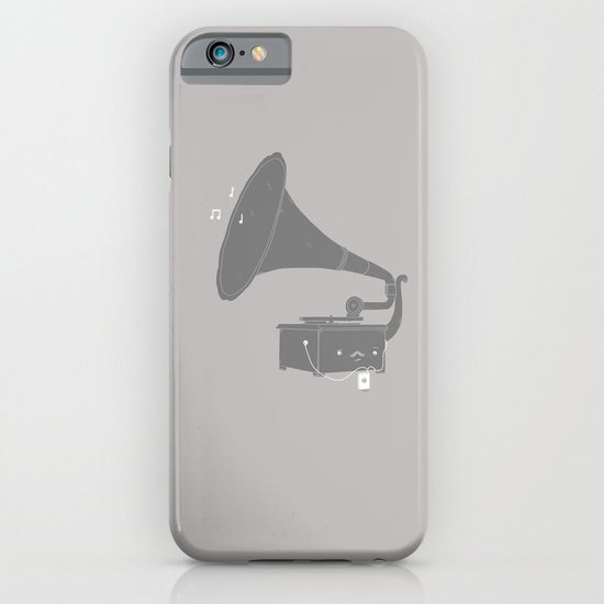 Get with the times iPhone & iPod Case