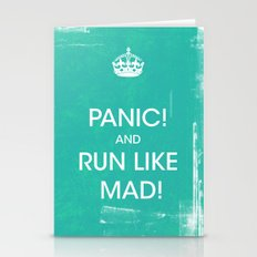 PANIC Stationery Cards
