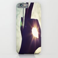 iPhone & iPod Case featuring tranquillité by Sara Strutz