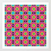 Pattern8 Art Print