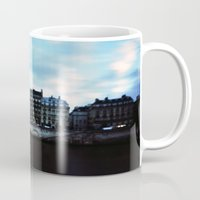 Paris At Dusk: Ile De La… Mug