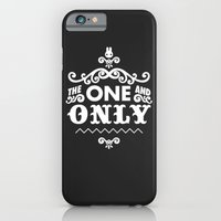 iPhone & iPod Case featuring The one and only by jusum