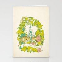 Vive Les Femmes Stationery Cards