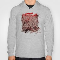 Surreal Red Harmony Hoody