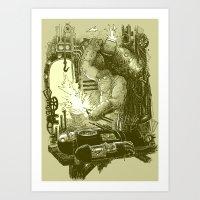 Doombots Art Print