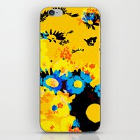 floral 001. iPhone & iPod Skin