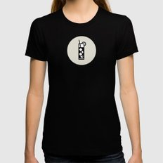 Mixed Icon - Drinks Seri… Womens Fitted Tee Black SMALL