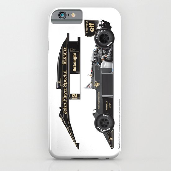 Ayrton Senna, Lotus 98T-Renault, 1986 iPhone & iPod Case