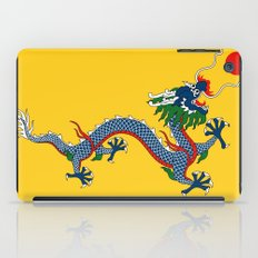 Chinese Dragon - Flag of Qing Dynasty iPad Case