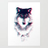 Act Like A Wolf.  Art Print