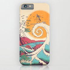 Surf Before Christmas Slim Case iPhone 6s