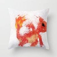#005 Throw Pillow