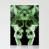 Smoke Photography #21 Stationery Cards