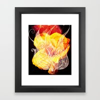 Wavy Framed Art Print