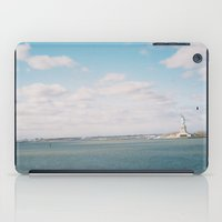 liberty clouds iPad Case
