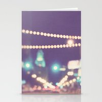Sparkle No.2. Downtown L… Stationery Cards