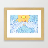 Skyclops Framed Art Print