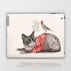 Snowshoes & Littlebird Laptop & iPad Skin