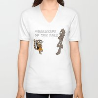 Guardians Of The Park Unisex V-Neck