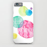 iPhone & iPod Case featuring Hello Nowhere by Amanda Brown