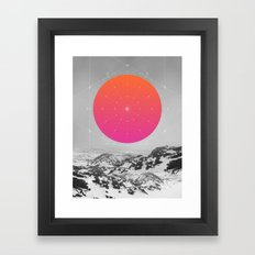 Middle Of Nowhere I Framed Art Print