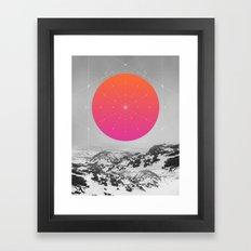 Middle Of Nowhere I Framed Art Print