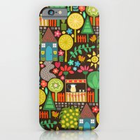 iPhone & iPod Case featuring woodland lemonade by Sharon Turner