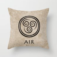 Throw Pillow featuring Avatar Last Airbender - … by Bdubzgear