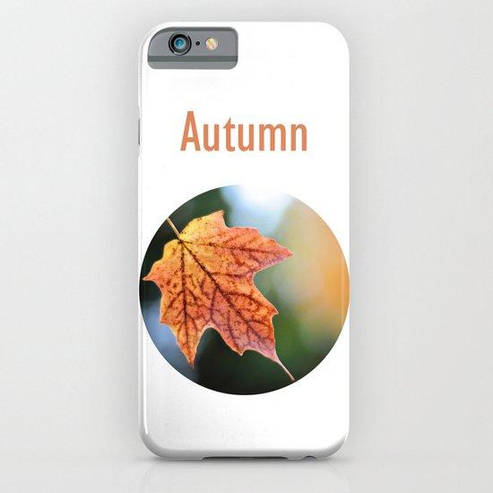 Autumn, the year's last, loveliest smile. iPhone & iPod Case