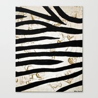 Tyger Stripes Canvas Print