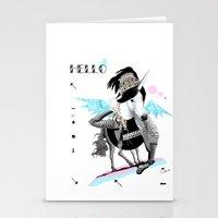 ---->HELLO PEGASUS!  Stationery Cards