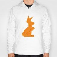 Origami Hare Hoody