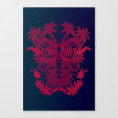 Tropical Rorschach Canvas Print