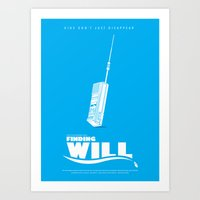 Finding Will Art Print