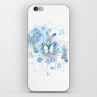 Dreamcatcher No. 1 - Butterfly Illustration iPhone & iPod Skin