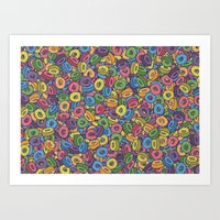 Froot Loops Art Print