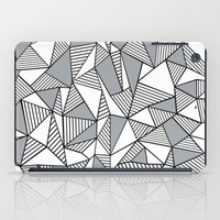 Abstract Lines With Grey… iPad Case
