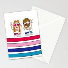 LOVEISPEACE&FREEDOM Stationery Cards