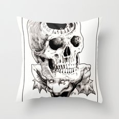 The Laughing Dragon Throw Pillow