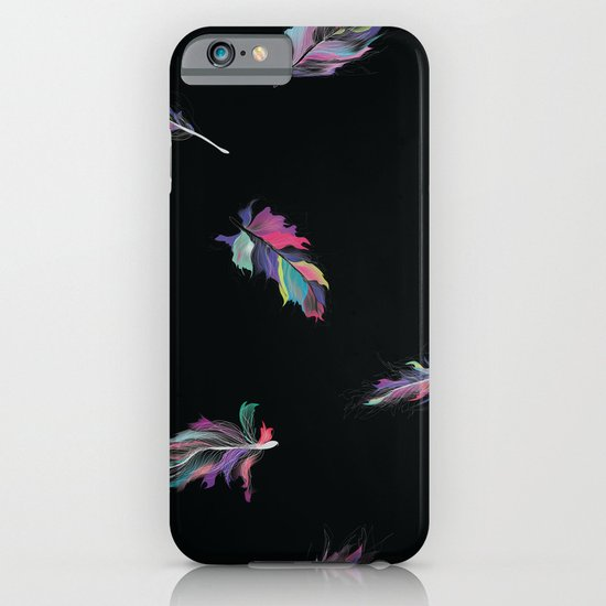 Cosmic feathers iPhone & iPod Case