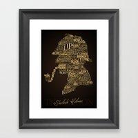 Sherlock Holmes The Cano… Framed Art Print