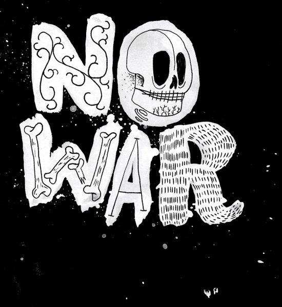 No War Canvas Print