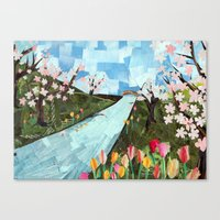 Cherry Who Canvas Print