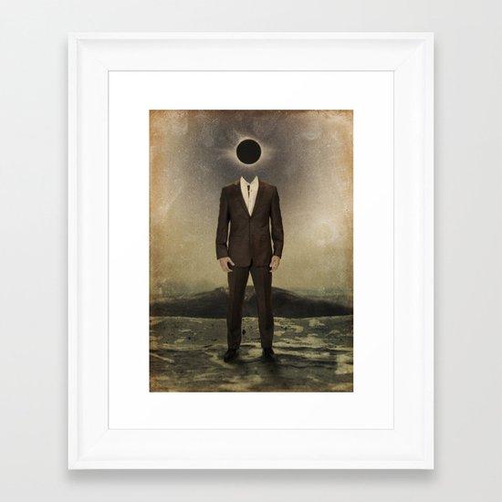 """""""Black and White""""  Framed Art Print"""