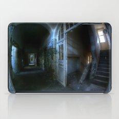 Horror hallway iPad Case