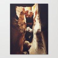Aron Ralston's Accident Location Canvas Print