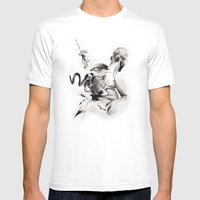 P.O.A.M (Portrait Of A M… Mens Fitted Tee White SMALL