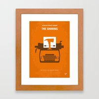 No094 My The Shining Min… Framed Art Print